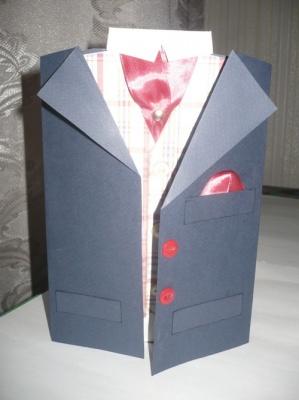 Открытка-пиджак 2