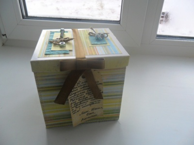 Мини-альбом коробочка