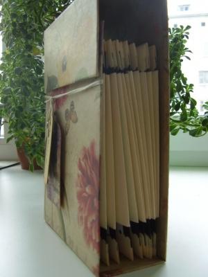 Кулинарный блокнот-коробочка
