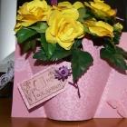 Скрап-корзинка с розами