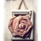 Шебби-роза.
