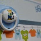открытка для новорожденного мальчика