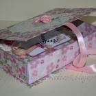 Комплект в подарок девочке. Коробочка.