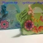 Сумочки-открытки