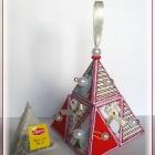 """Новогодняя """"Чайная пирамидка""""."""