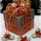 Новогодняя коробочка с сюрпризом