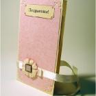 Открытка розовая