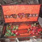 коробочка с конфетами