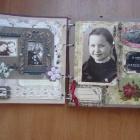страница из альбома для мамы