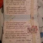 Разворот открытки на 18 лет сестре