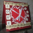 Открытка посвящена всем песням, которые как известно только о любви