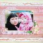 Рамочка в подарок для тёти мужа))